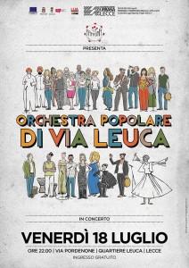 Concerto dell'Orchestra Popolare di via Leuca